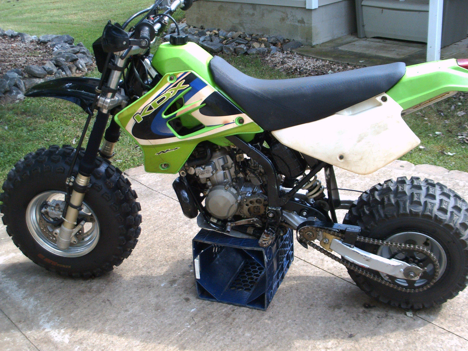 Kawasaki Yamaha Big Wheel Bw Type Kdx 200 Conversion Custom Atc Missile