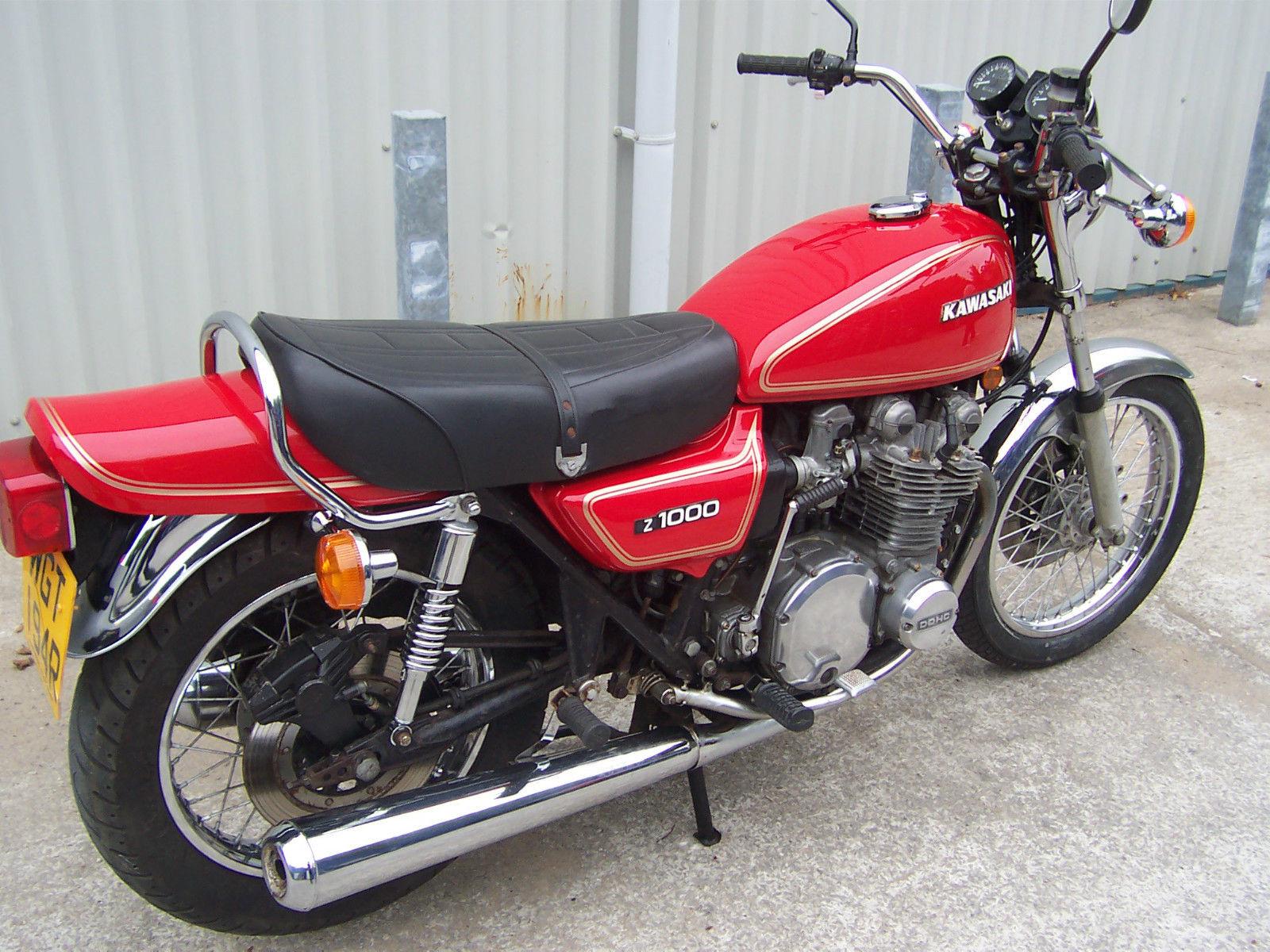 KAWASAKI Z1000 A1/Z1000 A2/Z900 A4/Z650/KAWASAKI Z1000 1977