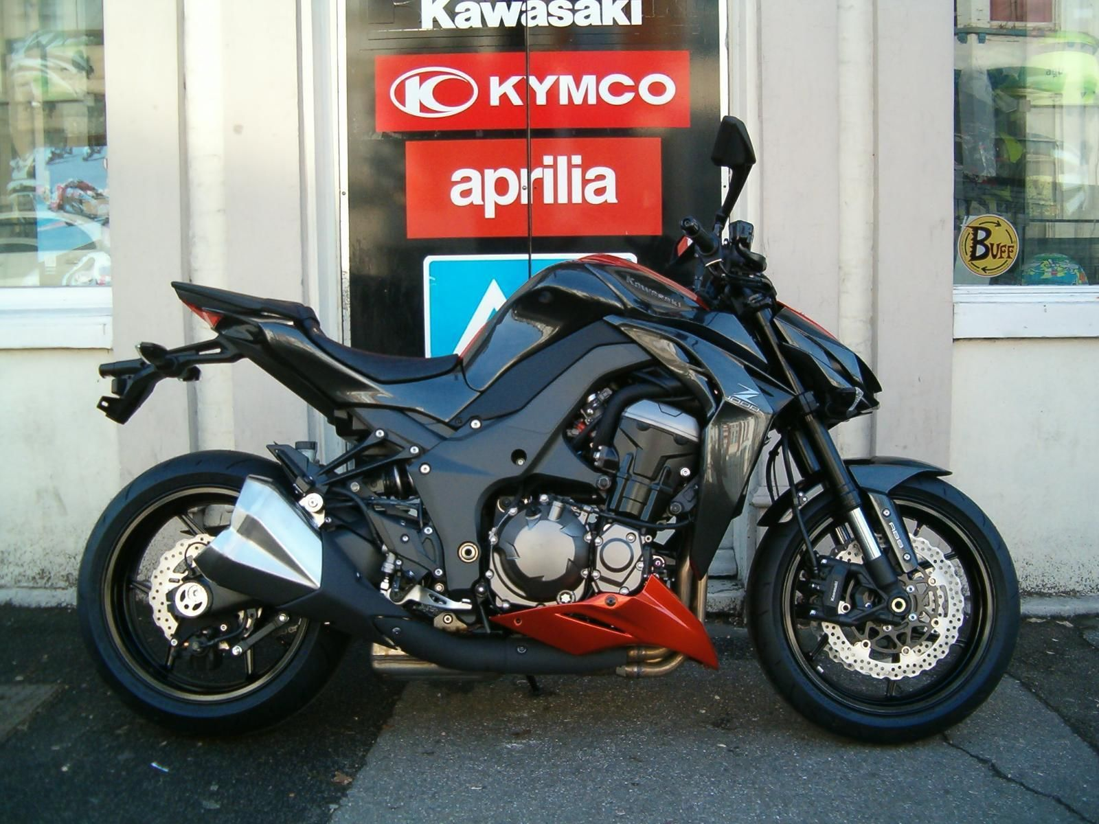 Kawasaki Z1000 ABS In 2015 Grey Orange With FREE UK Delivery 01634 811757
