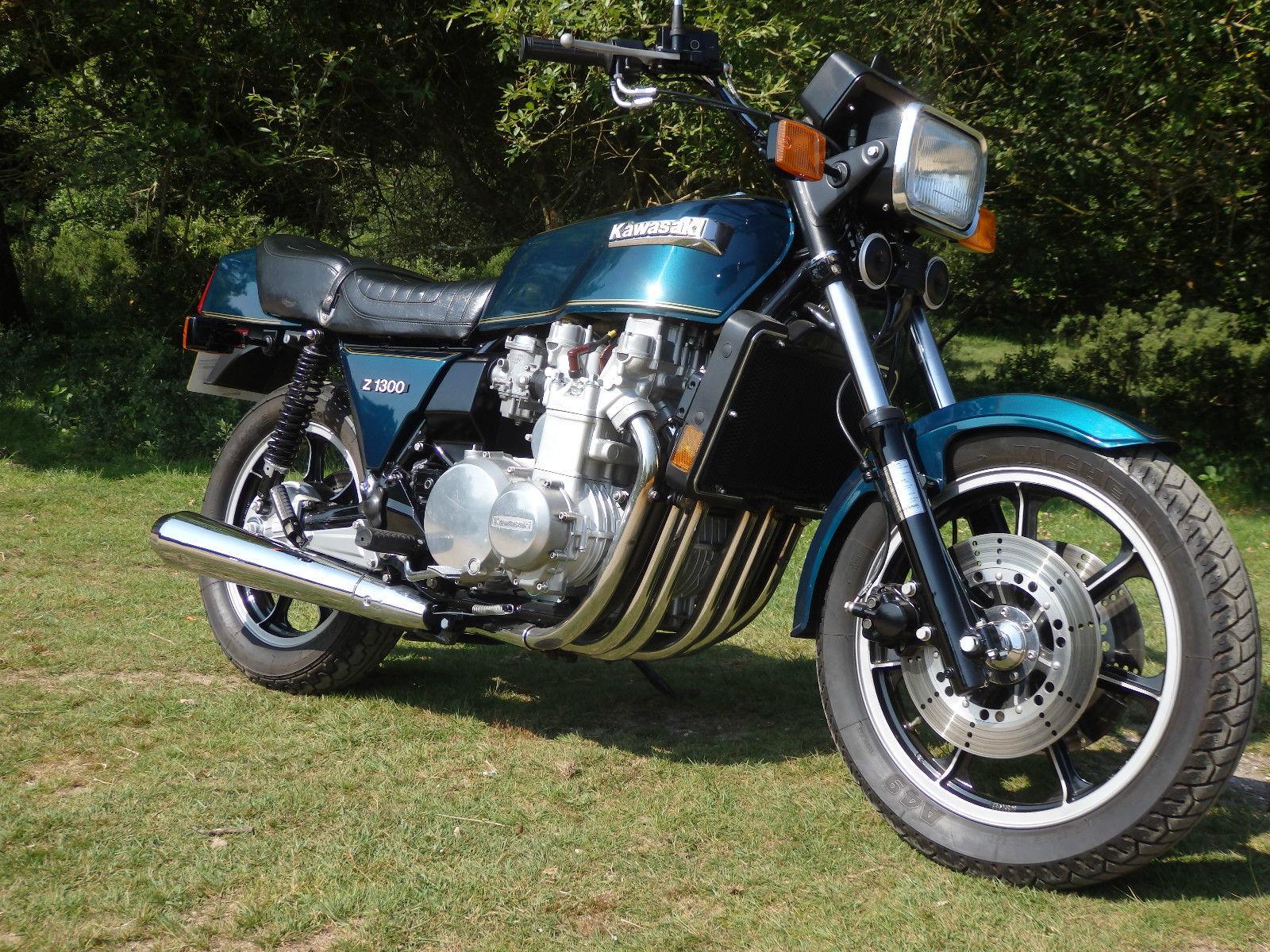 Kawasaki Z1300 Kz1300 1979 Restored