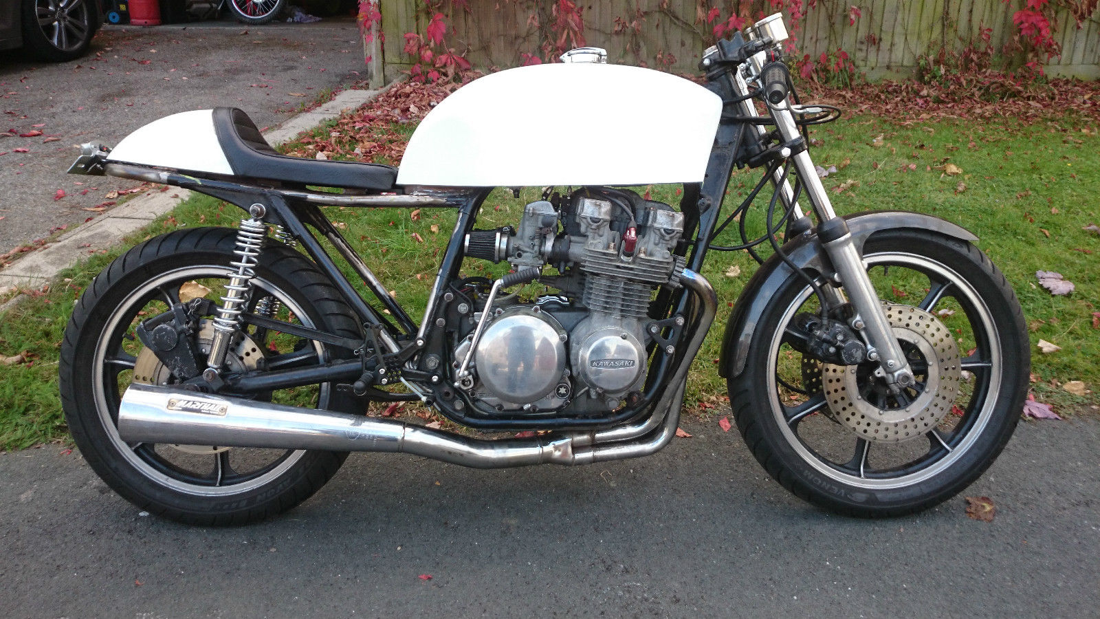Kawasaki Z650 Cafe Racer Unfinished Project