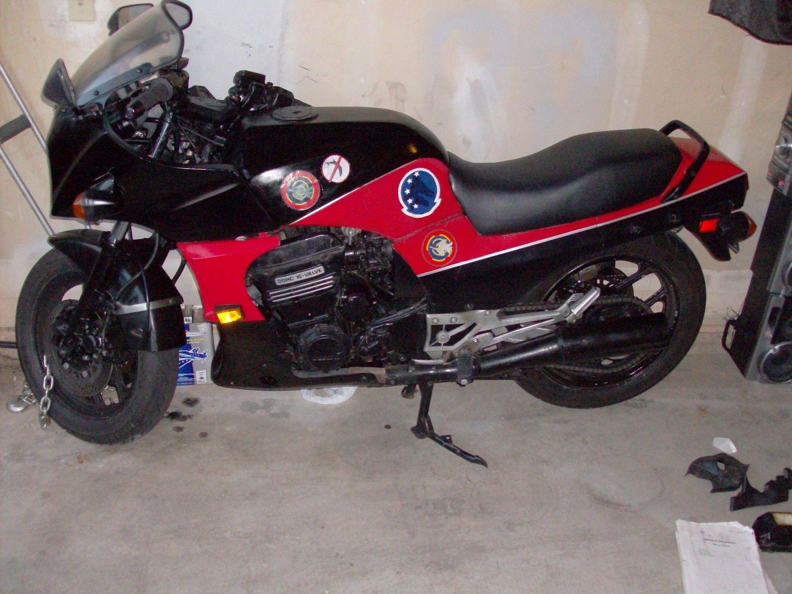 Kawasaki Zx900 Ninja 1985 A2 Top Gun Bike