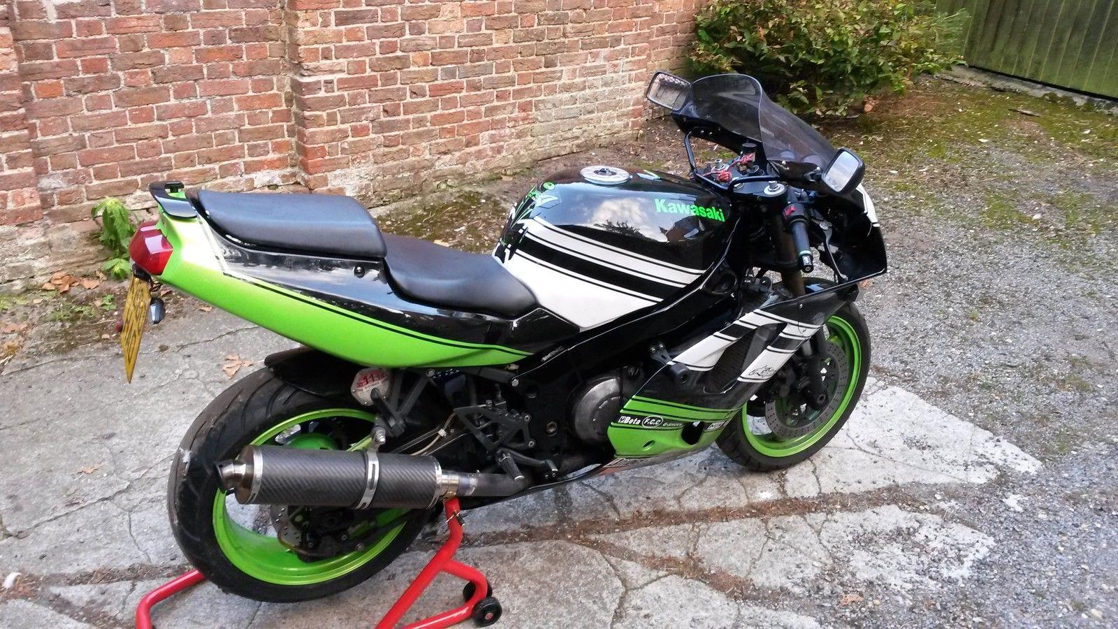 Kawasaki Zxr Black And Gold