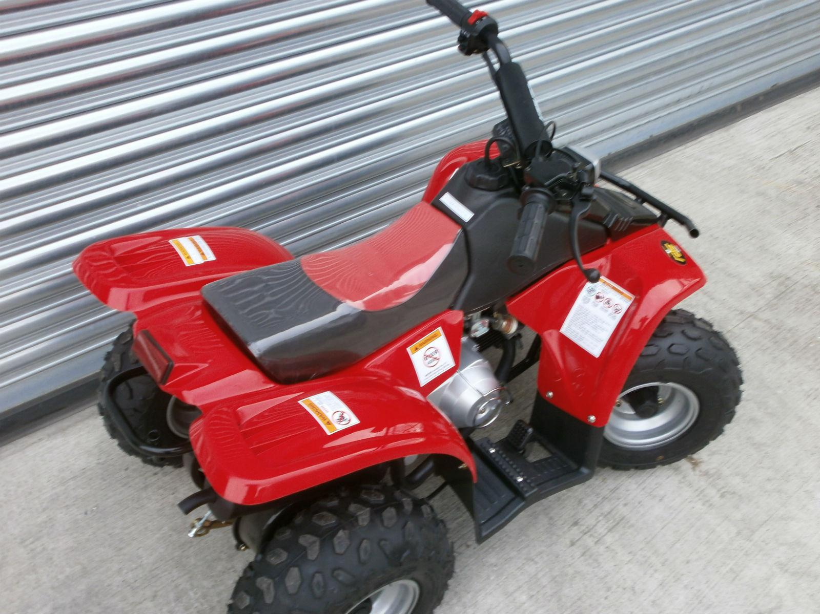 Kazuma Meerkat 50cc Chinese ATV Owners Manual