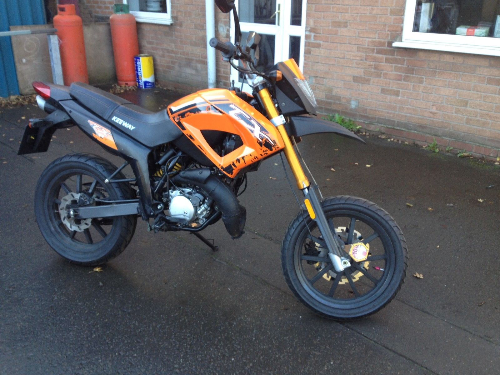 Keeway Tx50 Supermoto 50cc Bike Ped Moped