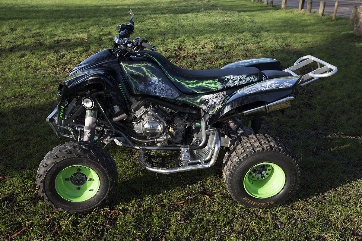 kfx 700 kawasaki plg fully road legal quad bike not raptor 700. Black Bedroom Furniture Sets. Home Design Ideas