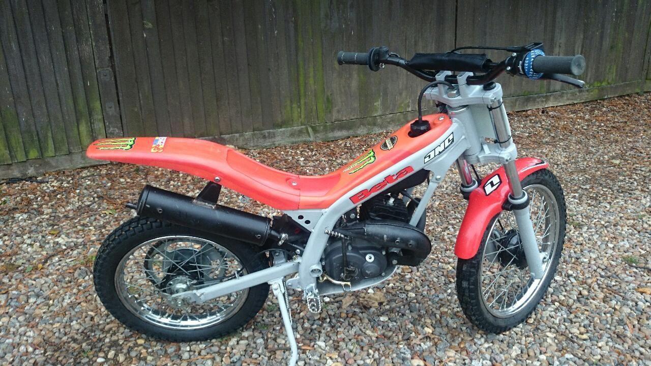 Kids Beta Mini 50cc Trials Bike