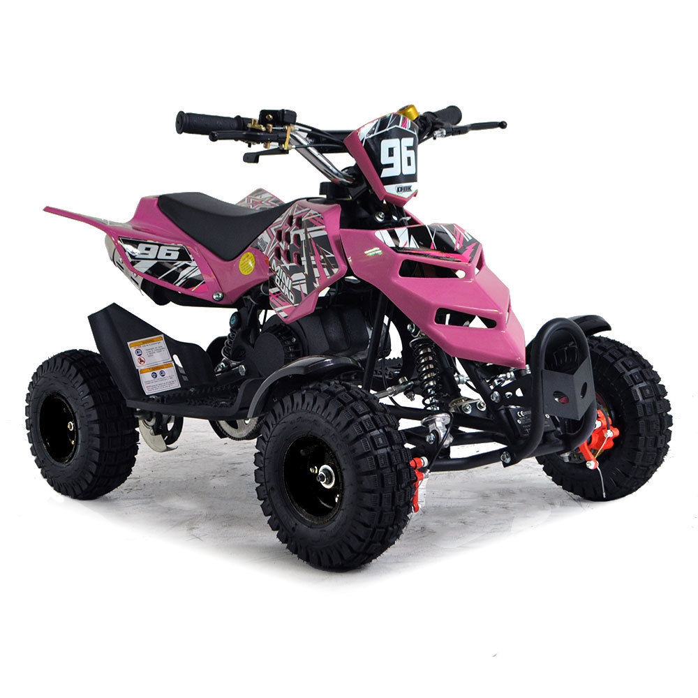 kids mini quad bike 49cc funbikes 50cc petrol quad ride on atv midi. Black Bedroom Furniture Sets. Home Design Ideas