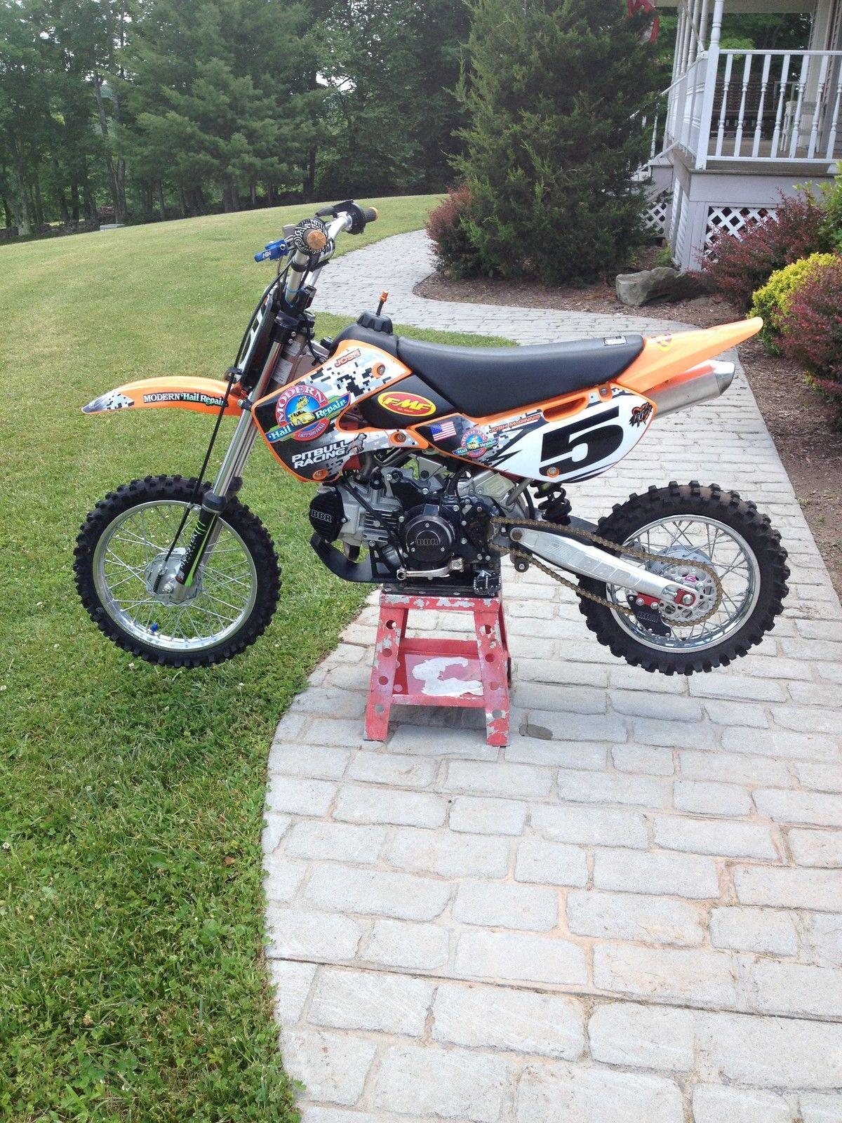 Klx Ktm 110 Fully Modified Bbr Pitbike