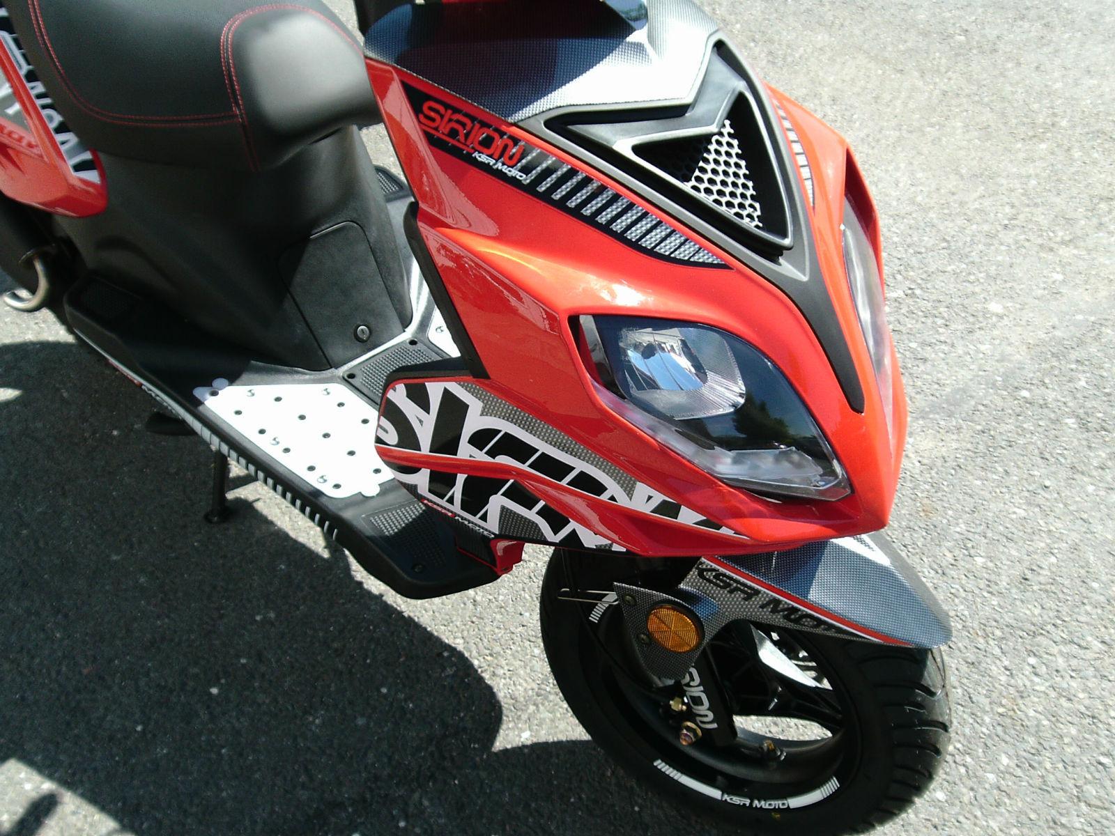 ksr moto sirion 50 scooter. Black Bedroom Furniture Sets. Home Design Ideas