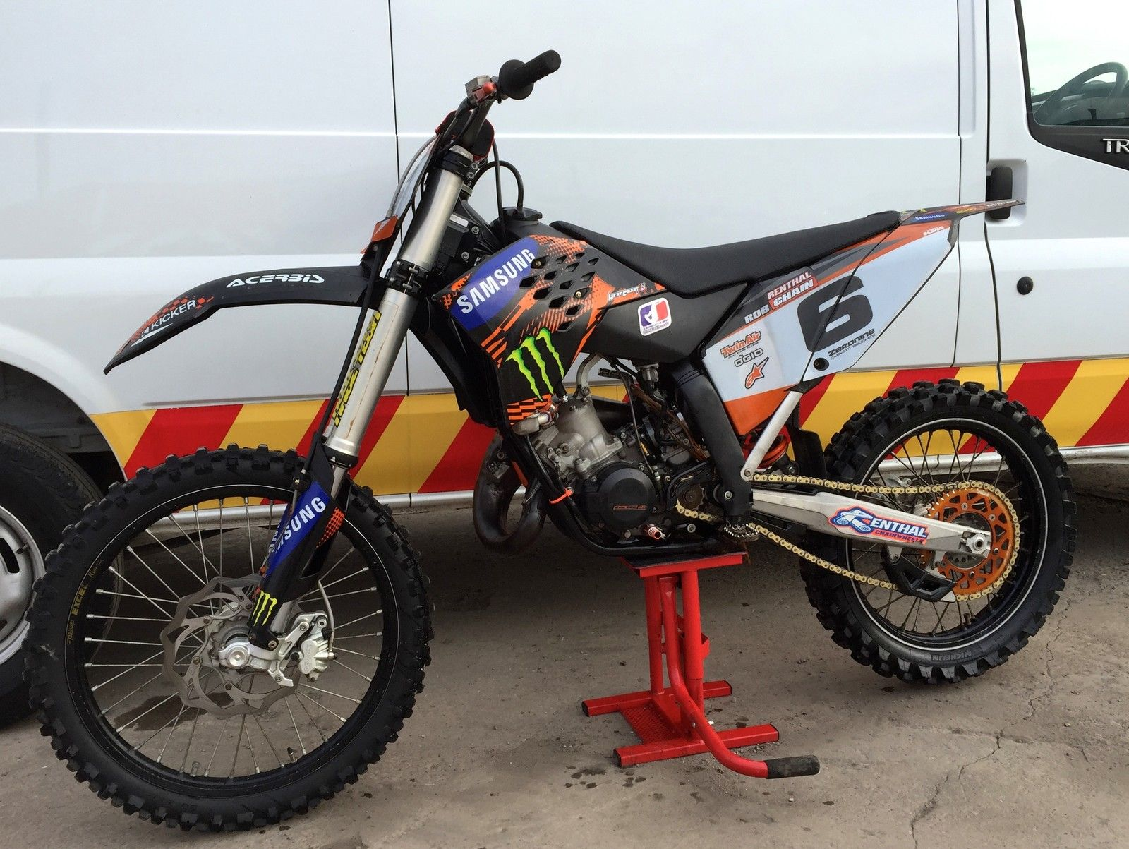Ktm Motocross Bikes For Sale Ebay