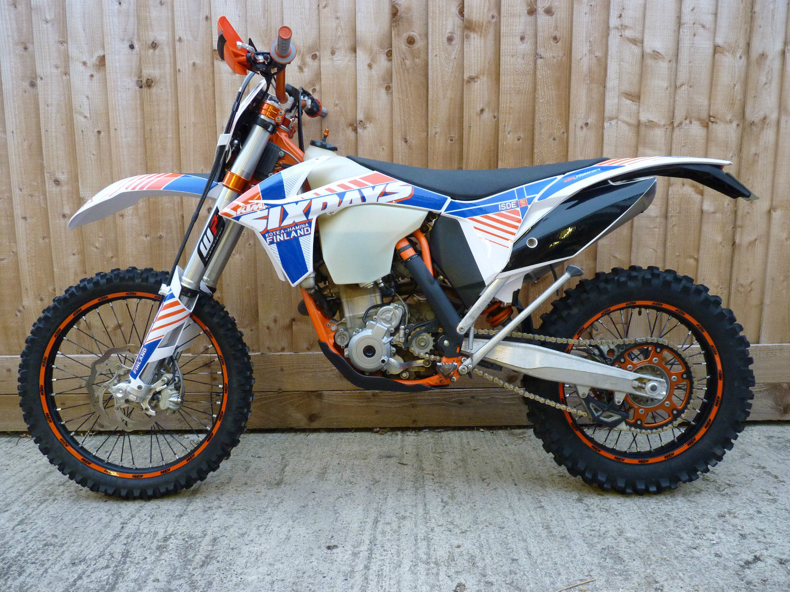 KTM 350 EXCF EXC F SIX DAYS MY2012 FINLAND EDITION