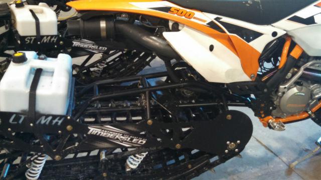 KTM 500xcw Motorcycle with Bondocker Turbo & Timbersled LT 2015