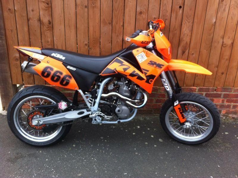 Ktm 660 Smc Lc4 Motorcycle
