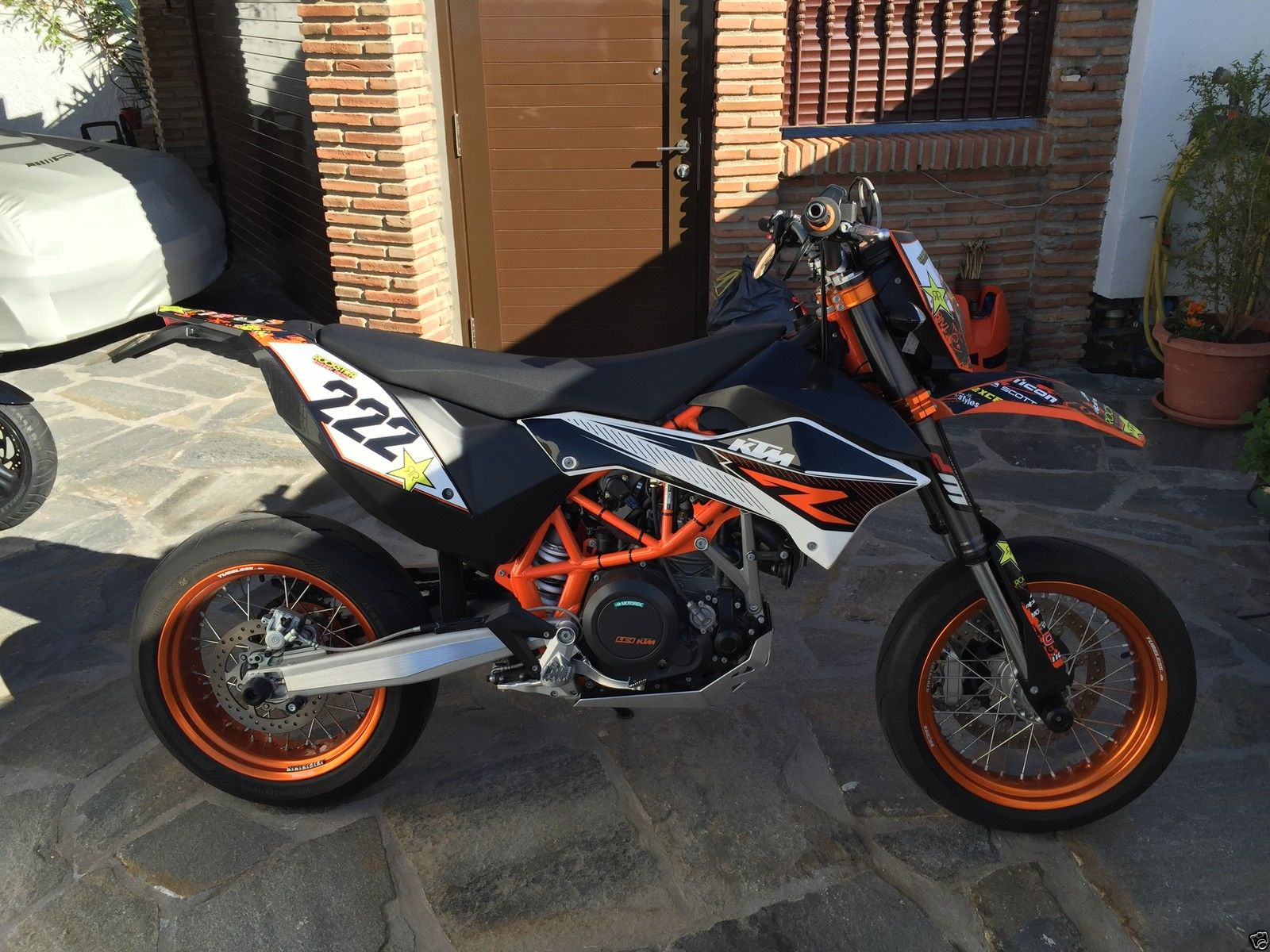 ktm 690 smc r 2012 supermoto located in spain. Black Bedroom Furniture Sets. Home Design Ideas