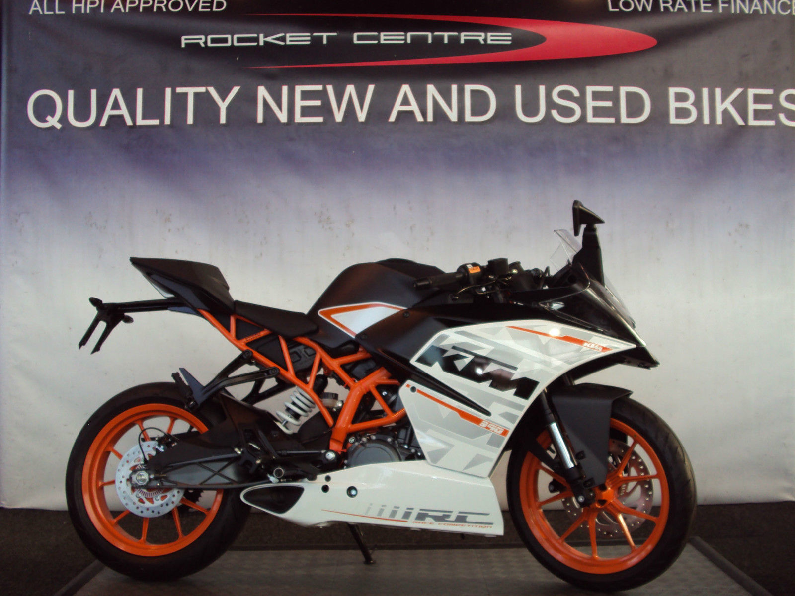 white ktm rc 390 - photo #21