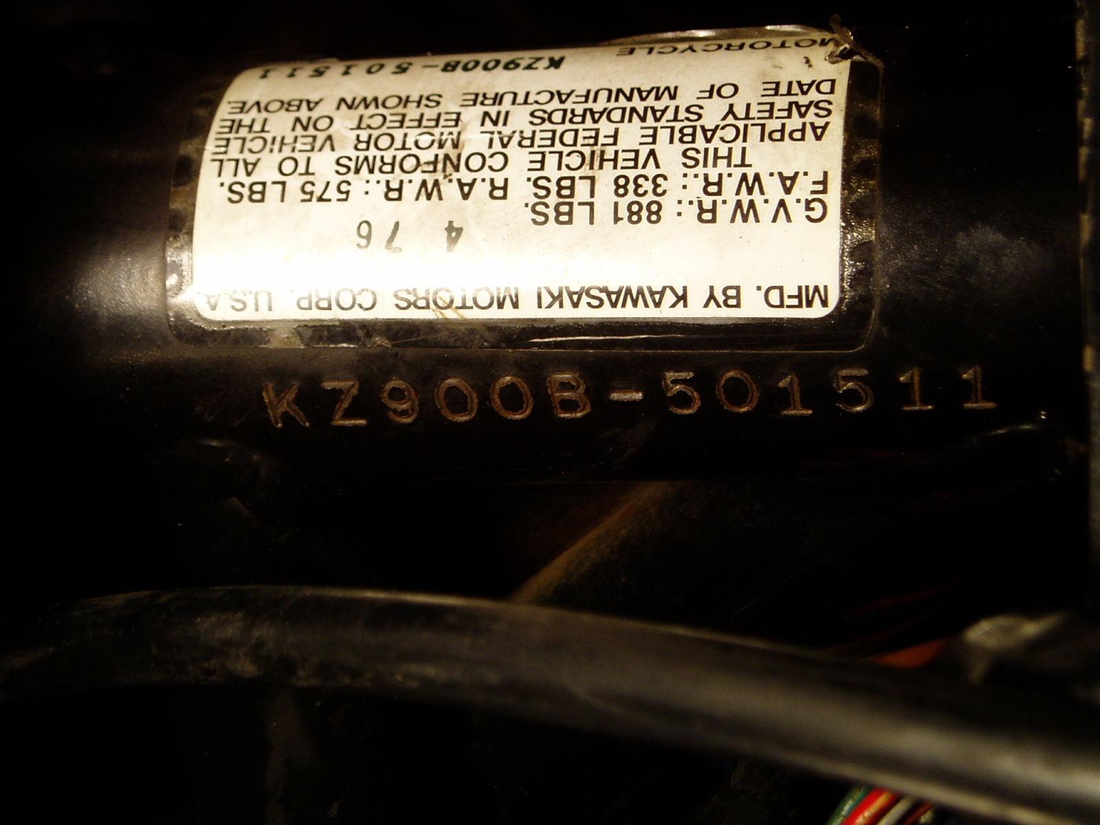 Kz900 Ltd 1976 Kz 900 B Kz900ltd Kawasaki Z1r Mkii Z1 Z1