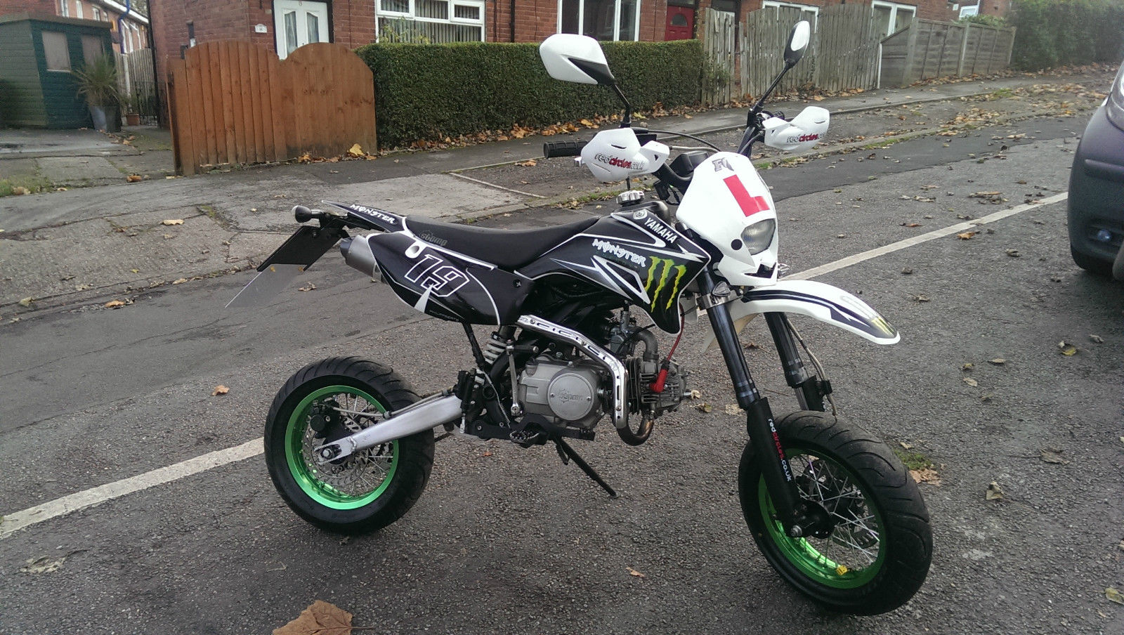 Road Legal Stomp Pit Bike For Sale Uk Road Legal Pit Bike Yx