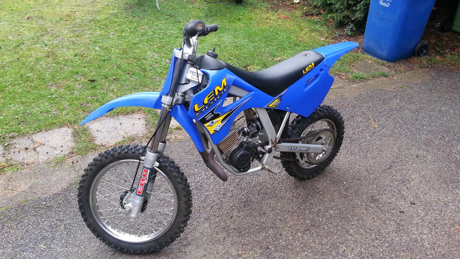 LEM LX3 50 cc automatic kids moto x not ktm husky