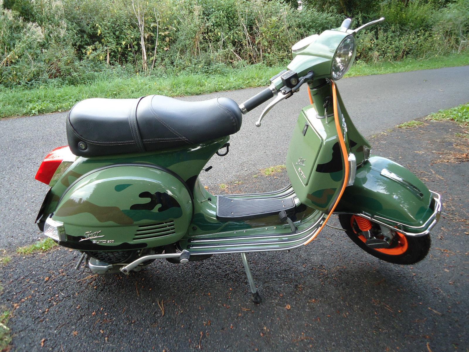 lml 200 star euro scooter special edition not vespa lambretta honda or suzuki. Black Bedroom Furniture Sets. Home Design Ideas