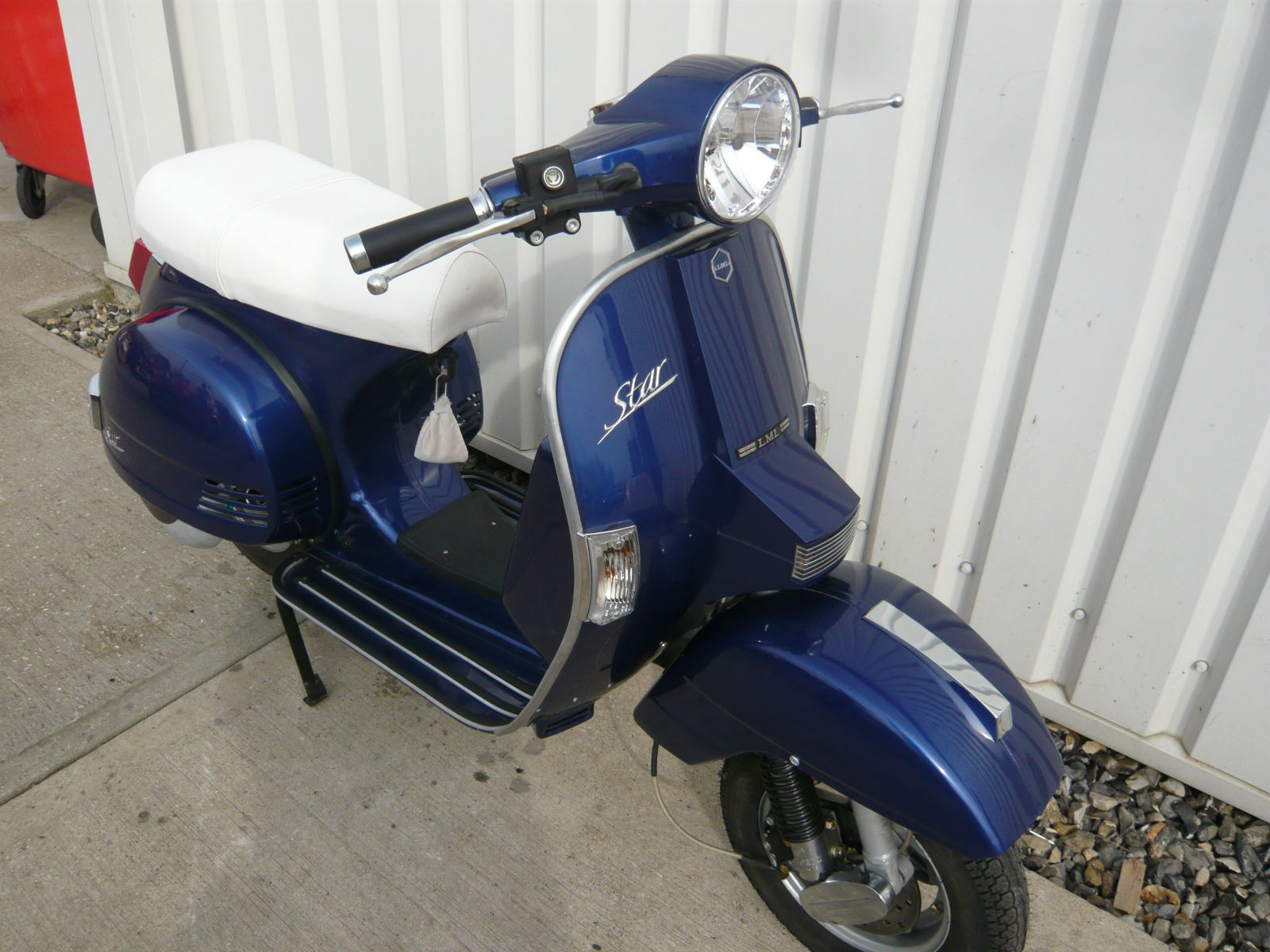 lml star 125 automatic vespa lambretta 2014 retro classic. Black Bedroom Furniture Sets. Home Design Ideas