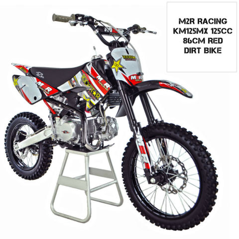 M2r Racing Km125mx 125cc 82cm Pit Bike 86 Dirt Bike Scrambler