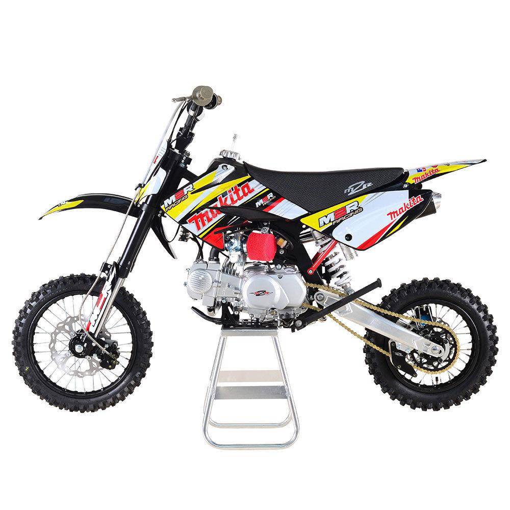 m2r racing km125mx 125cc 86cm makita pit bike dirt bike scrambler motocross. Black Bedroom Furniture Sets. Home Design Ideas