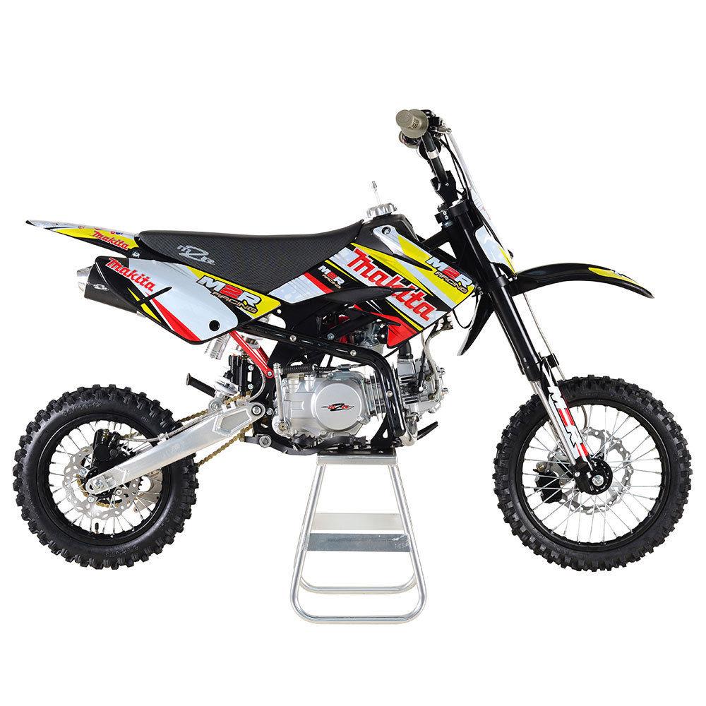 m2r racing km140mx 140cc 86cm makita pit bike dirt bike scrambler motocross. Black Bedroom Furniture Sets. Home Design Ideas