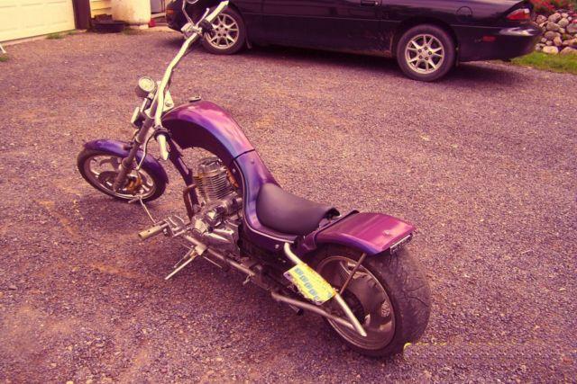 Mini Chopper Pit Bike Street Legal Custom Raked Hav the coolest bike in the  pits