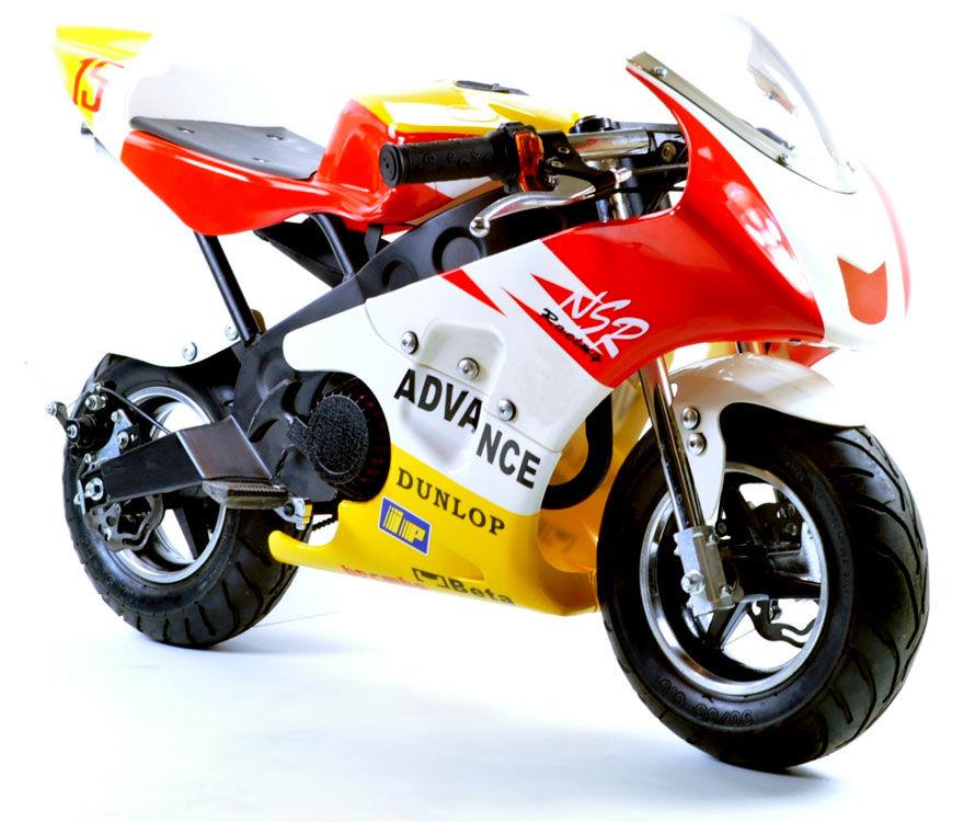 mini moto race bike 50cc mini moto racing bike childrens kids petrol motor. Black Bedroom Furniture Sets. Home Design Ideas