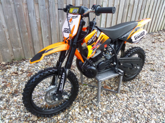 mini mx 50r 50cc childs moto cross 2 stroke automatic 9hp. Black Bedroom Furniture Sets. Home Design Ideas