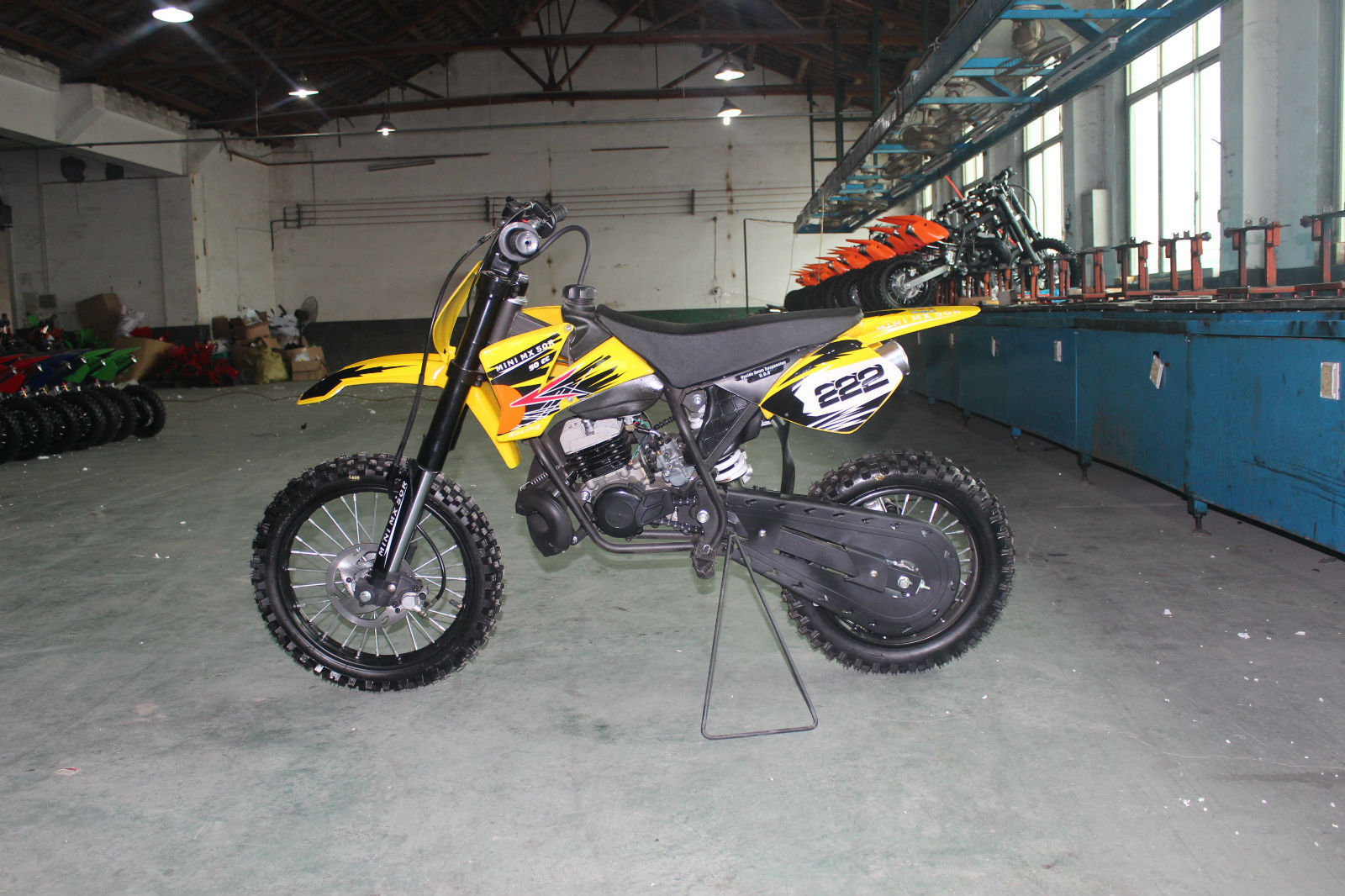Mini mx 50r 50cc moto cross 2 stroke automatic 9hp dirt - Moto crosse ktm ...