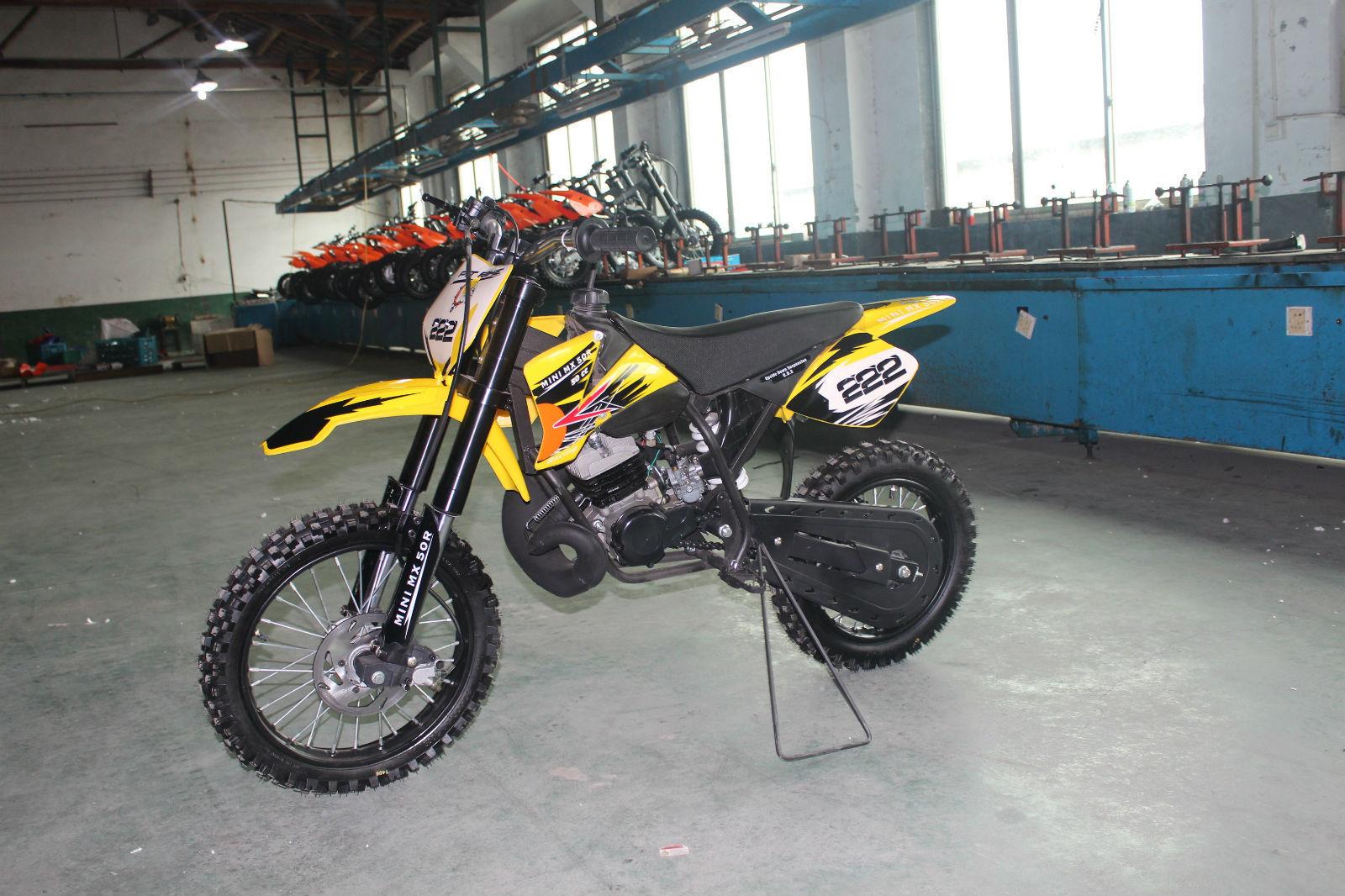 mini mx 50r 50cc moto cross 2 stroke automatic 9hp dirt bike ktm pit bike childs. Black Bedroom Furniture Sets. Home Design Ideas