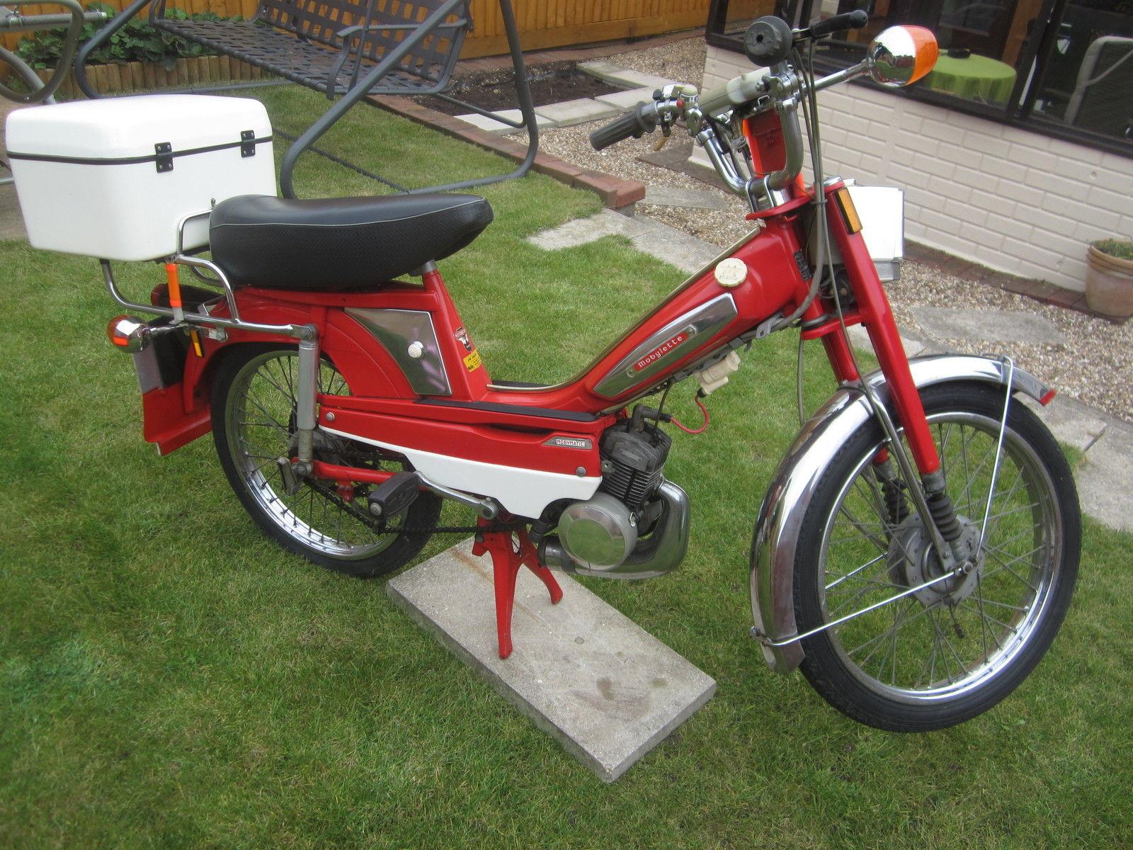 mobylette mobymatic motobecane moped 1974 bereavement sale. Black Bedroom Furniture Sets. Home Design Ideas