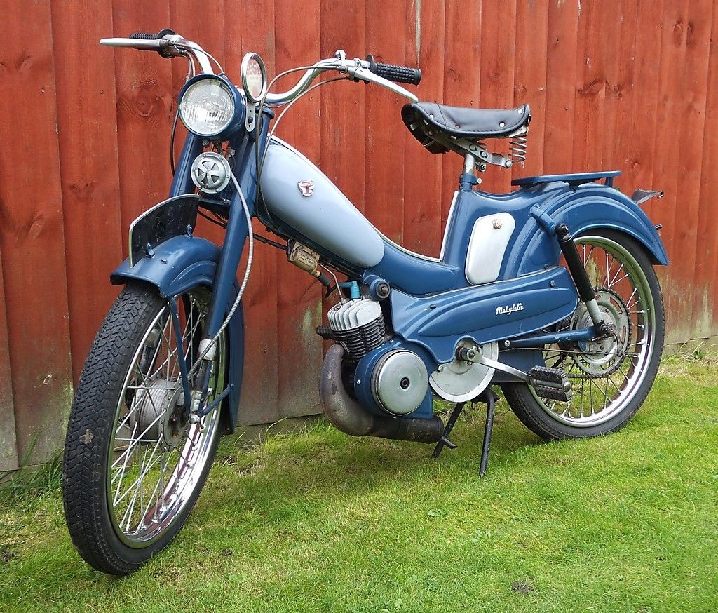 mobylette motobecane 50cc moped v5 runner mot tax exempt 1961 retro motorbike. Black Bedroom Furniture Sets. Home Design Ideas