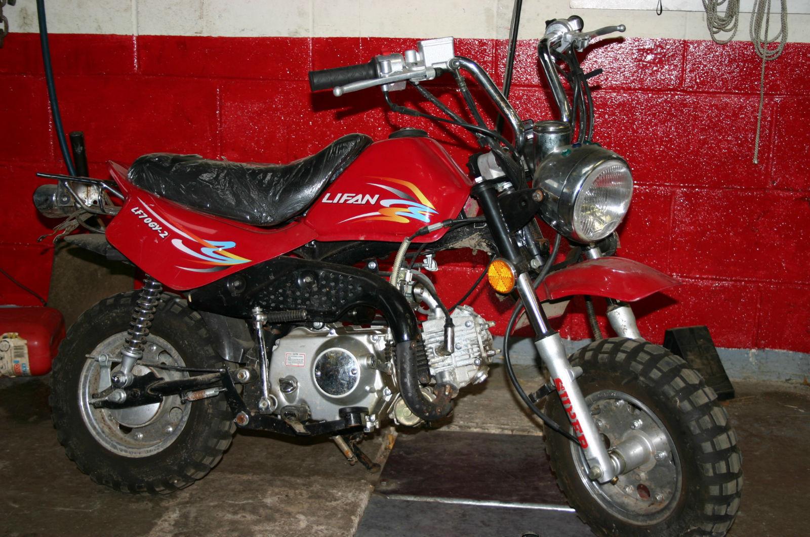 2007 LIFAN LF 110 GY-E MONKEYBIKE Monkey Bike BLACK
