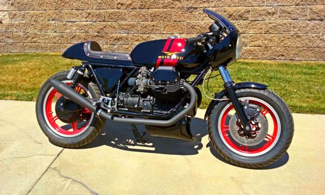 Moto Guzzi Le Mans 1000 Special Cafe Racer All New Unique Cycles