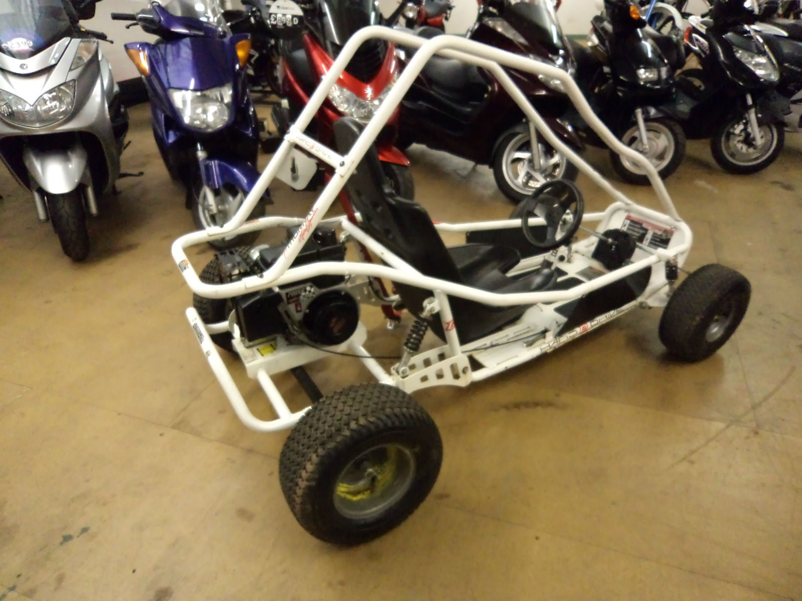 MURRAY MOTORSPORT HARD DRIVE KIDS GO KART, BUGGY