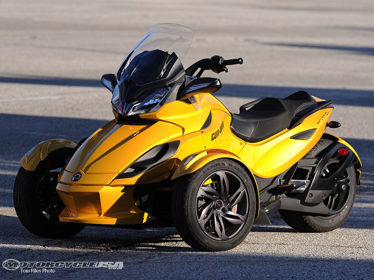 new 2013 can am spyder st s sm5. Black Bedroom Furniture Sets. Home Design Ideas