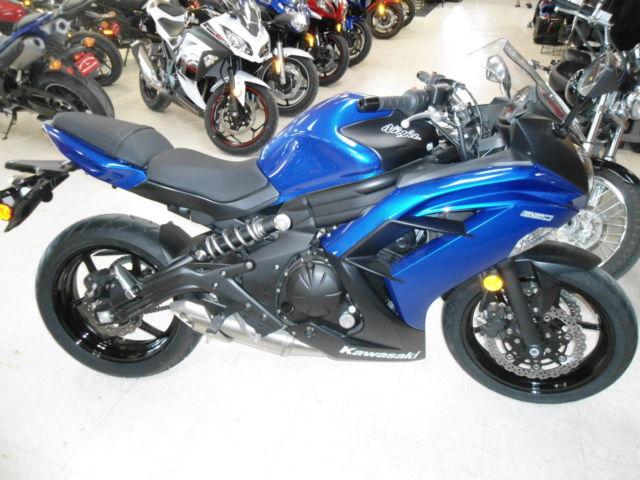 New 2013 Kawasaki Ninja 650 EX650ED Blue sweet Looker