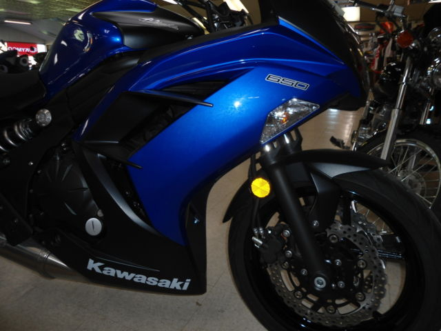 New 2013 Kawasaki Ninja 650 EX650ED Blue sweet Looker