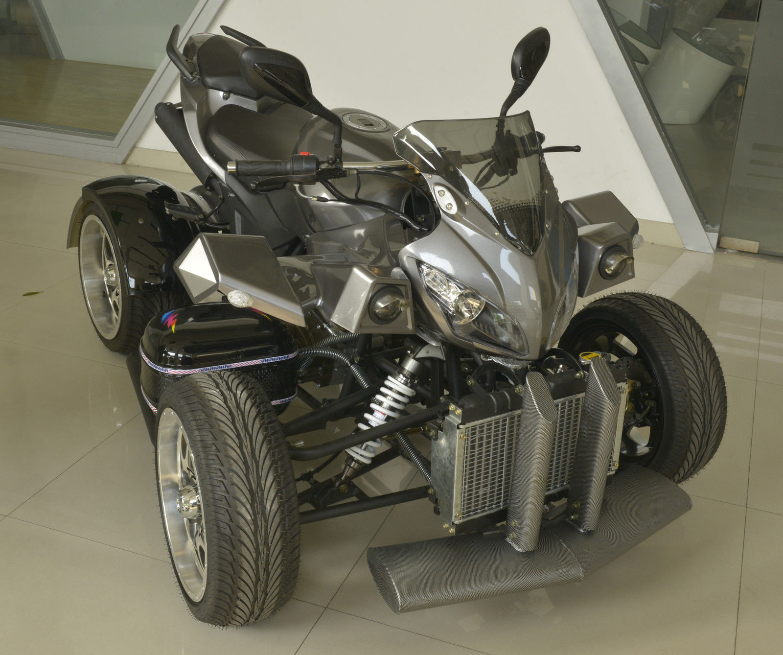 Street Bike Quad: NEW 2014 DCT 250CC SPORT 2 SEATER ROAD LEGAL QUAD BIKE