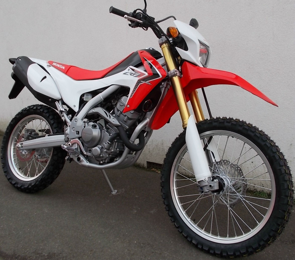 New 2014 Honda Crf250 L Road Legal Enduro Bike Green Laner