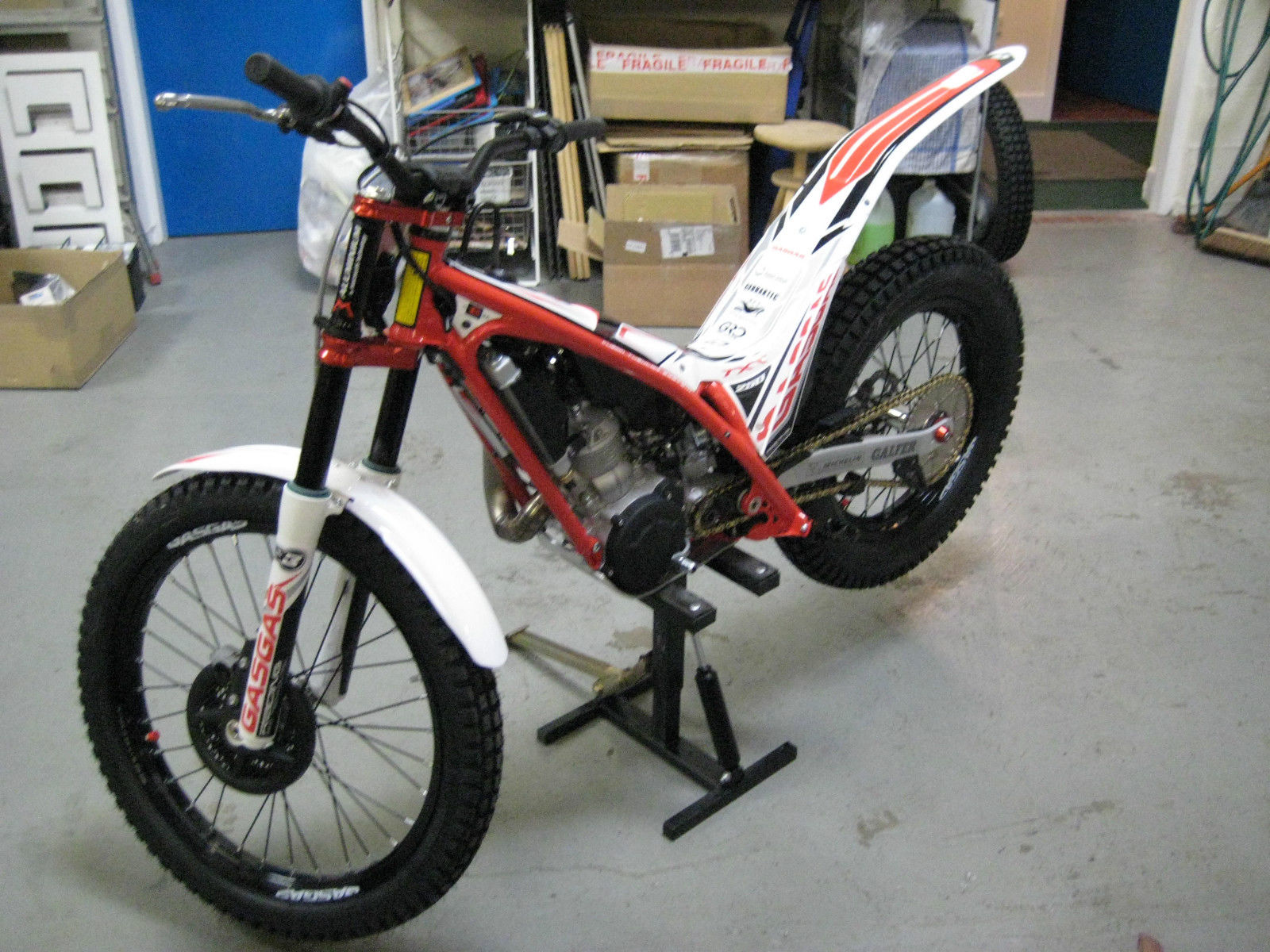 new 2015 gas gas txt pro trials bike 2 stroke great prices. Black Bedroom Furniture Sets. Home Design Ideas
