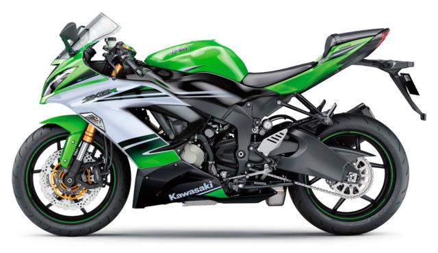 New 2015 Kawasaki Ninja Zx 6r Zx636effal 30th Anniversary Ed Zx6r