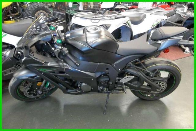 New 2016 Kawasaki 1000 Zx10r Zx10 Ninja Black Motorcycle Otd Price