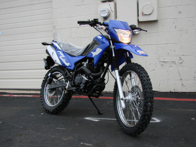 New Dirt Bike 250cc Enduro Dual Sports Fully Street Legal Very Fast And Powerful