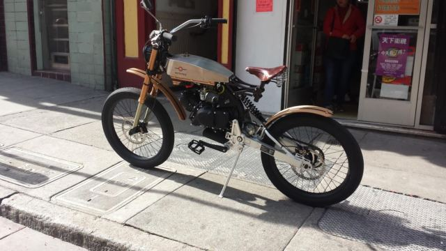 New Motoped Cruzer motorized bicycle - Moped