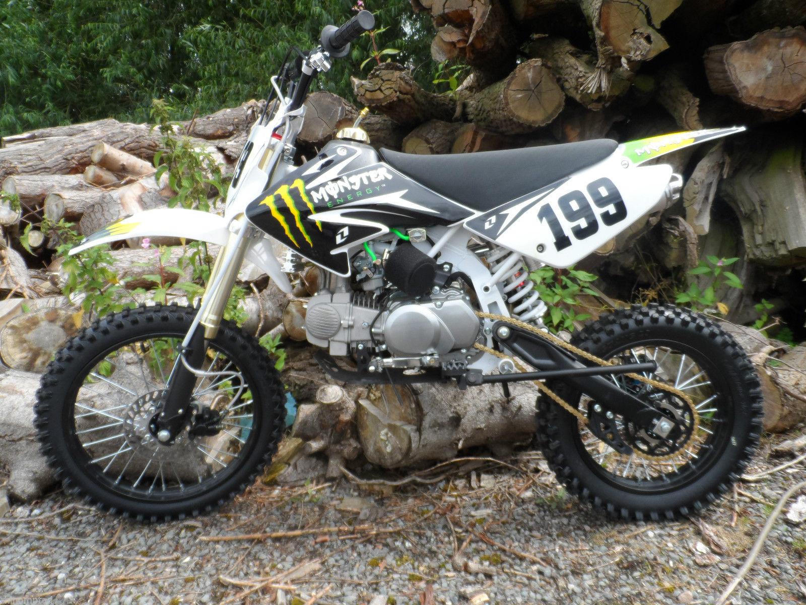 New Pbs Z Crf Sized Pit Bike Yx Engine Amp Big Wheels As Standard