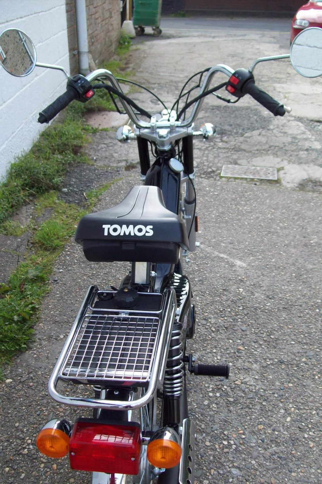 how to make tomos moped go faster